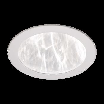 Fehér, egyenes, műanyag mennyezeti fényelosztó