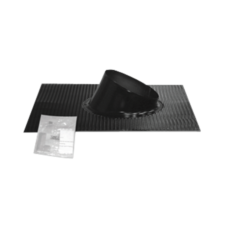 Cserepes vagy fémlemezes ferde tetőn alkalmazható flexibilis szegély